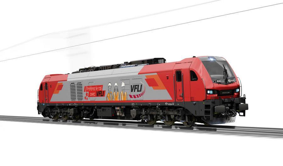 Stadler pokazał wizualizacje lokomotyw dla VFLI i ITL