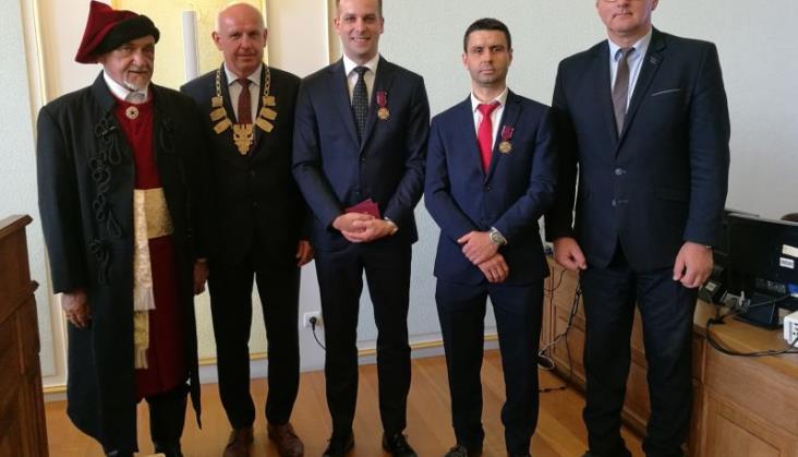 Stowarzyszenie Kolej Beskidzka odznaczona przez Prezydenta Rzeczypospolitej
