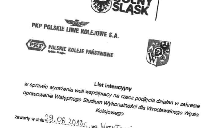List intencyjny w sprawie węzła wrocławskiego stał się memem. Mamy jego treść