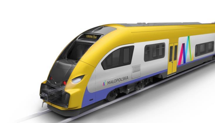 Pesa wygrywa przetarg na pociągi dla Małopolski. Mamy wizualizację!