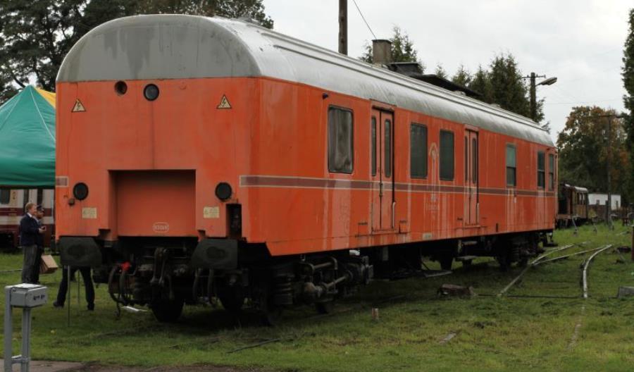 Rogów: Wagon pocztowy wzbogacił ekspozycję FPKW [zdjęcia]