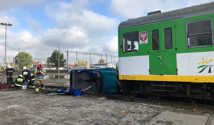 Pracownicy Kolei Mazowieckich ćwiczyli na wypadek zagrożenia terrorystycznego