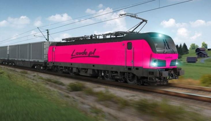 Laude rozstrzygnęło przetarg na lokomotywę. Będzie różowy Vectron