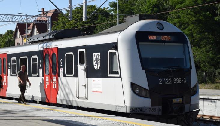 Codzienne pociągi ze Słupska do Ustki ruszą 15 grudnia