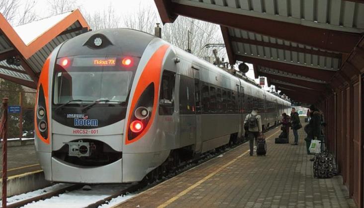 Wstrzymano wszystkie połączenia kolejowe między Polską a Ukrainą