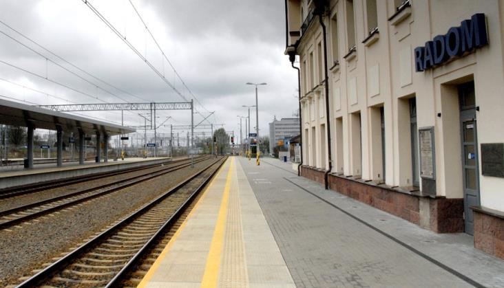 Z Warki do Radomia pociągiem dopiero w grudniu 2020