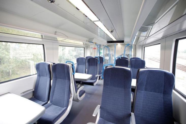 Technologia Siemensa pomaga w utrzymaniu dystansu między pasażerami w pociągach