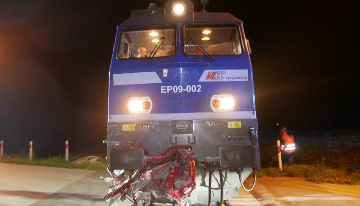 Raport PKBWK po wypadku na przejeździe między Starzynami a Koniecpolem