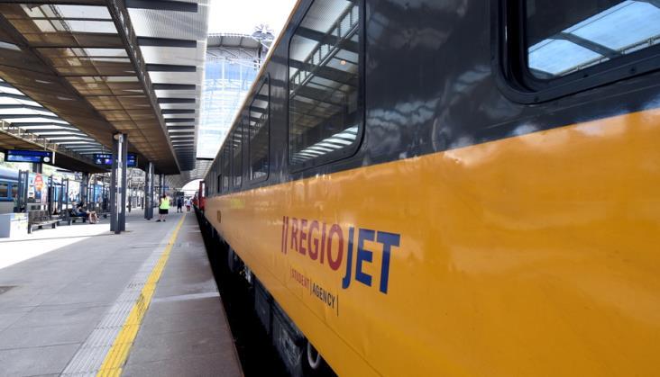 RegioJet chce jeździć z Krakowa do Warszawy od grudnia 2020