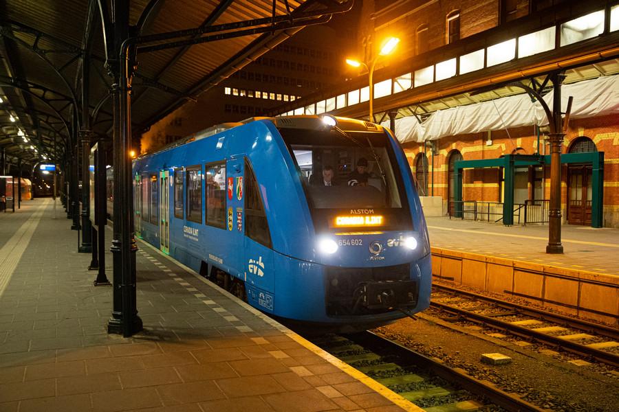Wodorowy iLint z Alstomu w Holandii bardzo się spodobał