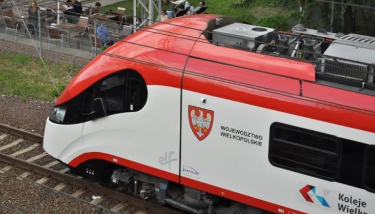 Nowe połączenia Kolei Wielkopolskich od nowego rozkładu jazdy