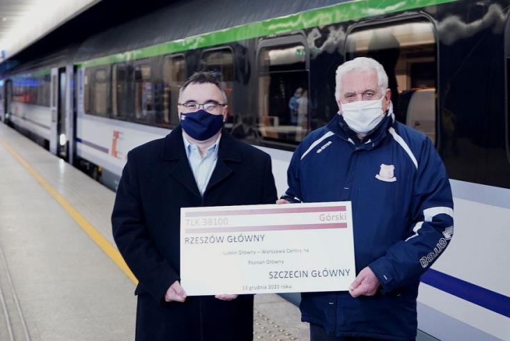 Nowy pociąg TLK Górski. PKP Intercity uhonorowało legendarnego trenera