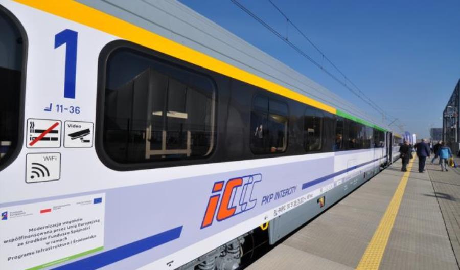 40 wagonów z 1. i 2. klasą już w PKP Intercity