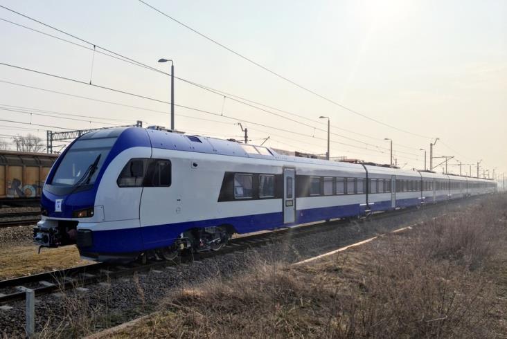 Pierwszy Flirt dla PKP Intercity z nowej serii zaczyna testy