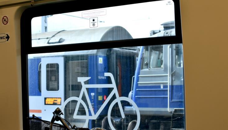 Dużo mniej pociągów PKP Intercity z wagonami dla rowerów na kilku trasach