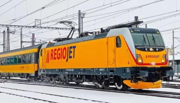 RegioJet prezentuje rozkład jazdy pociągu Praga – Amsterdam – Bruksela – Ostenda