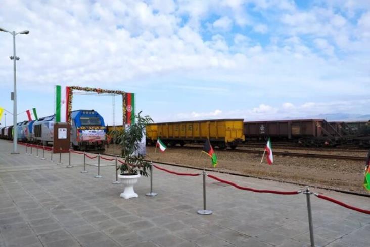 Pierwsza linia kolejowa połączyła Afganistan z Iranem