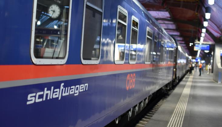 Ruszają pociągi Kolei Austriackich z Amsterdamu do Wiednia
