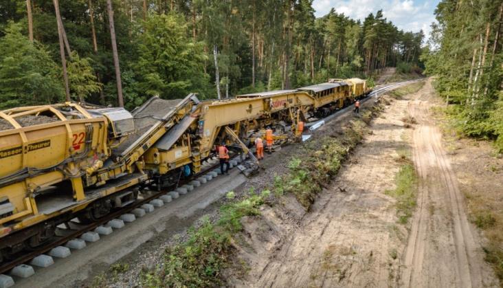 PLK podpisała umowę na dodatkowe prace na linii 207 pod Kwidzynem