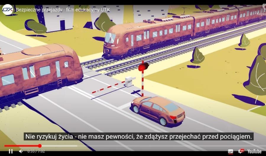 Międzynarodowy Dzień Bezpieczeństwa na Przejazdach Kolejowych