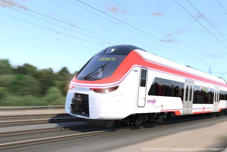 Renfe podpisało z Alstom umowę na 152 pojemne składy aglomeracyjne