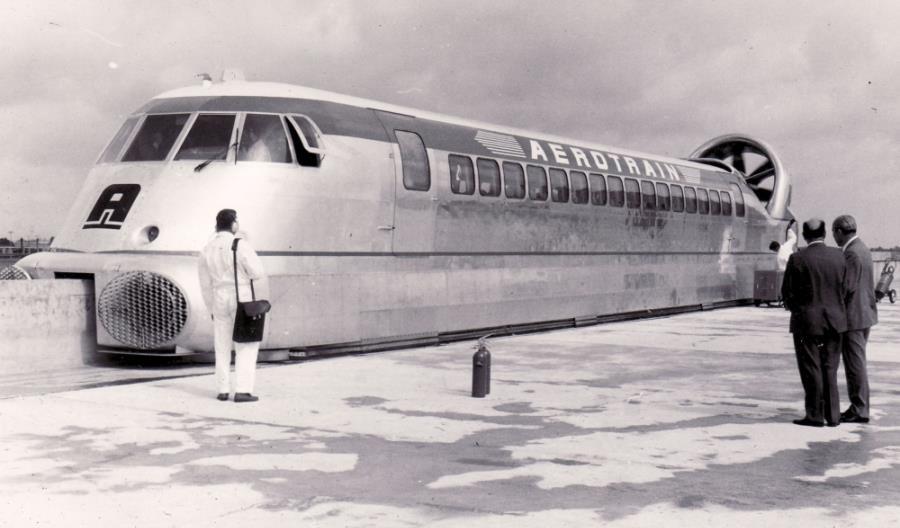 Aérotrain. Pociąg, który przegrał z TGV