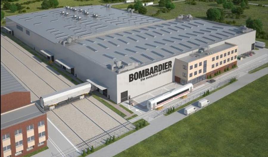 Bombardier zainwestował 250 mln zł w rozwój fabryki we Wrocławiu