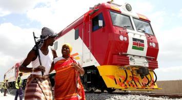 Szybki pociąg połączył Mombasę z Nairobi w Kenii