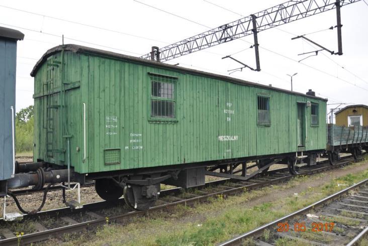 Transport stuletnich wagonów na trasie Kraków Nowa Huta - Jaworzyna Śląska