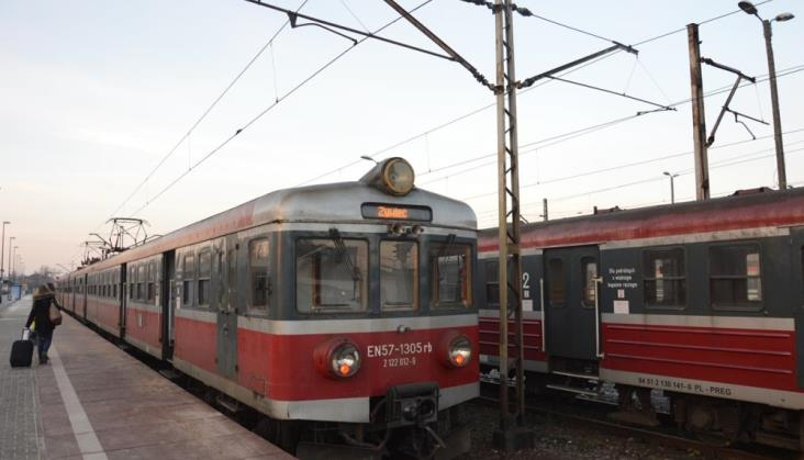 Pierwszy po blisko 18 latach pociąg Kraków – Żywiec