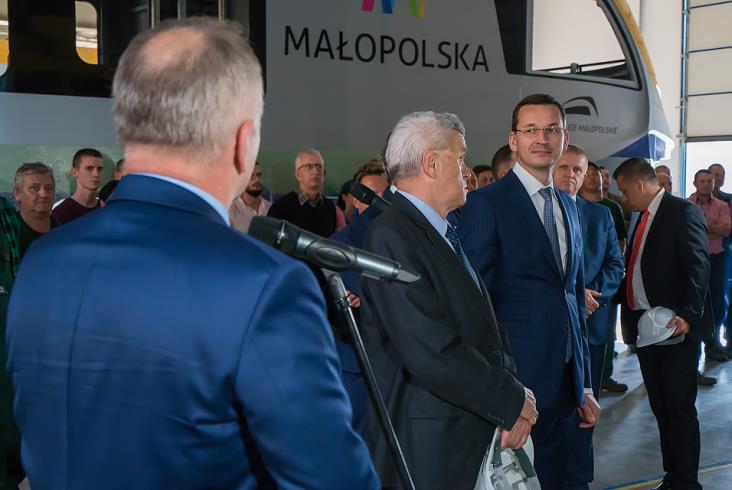 Wizyta wicepremiera Morawieckiego w Newagu [zdjęcia i film]