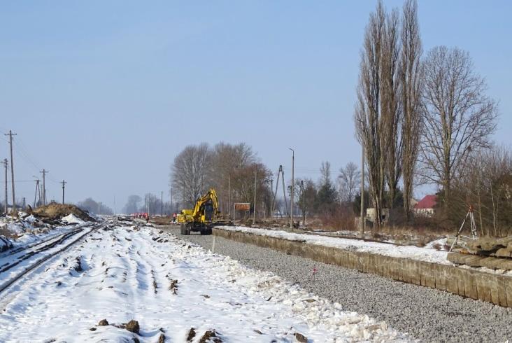 Łuków – Lublin: Remont linii na ostatniej prostej