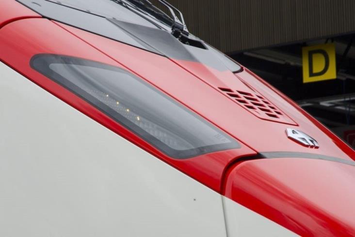 Giruno – pociąg Stadlera, którym pojedziemy przez Alpy
