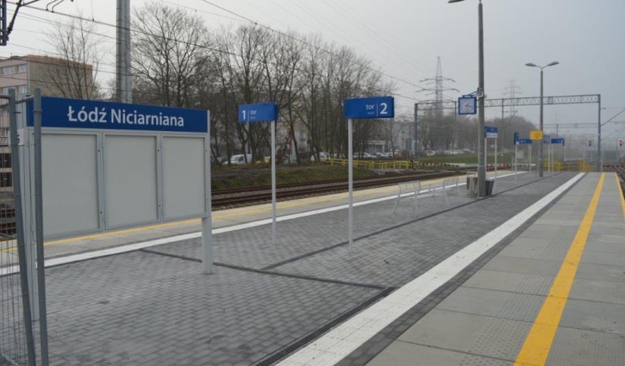 Nowe bezkolizyjne skrzyżowanie linii kolejowej w Łodzi