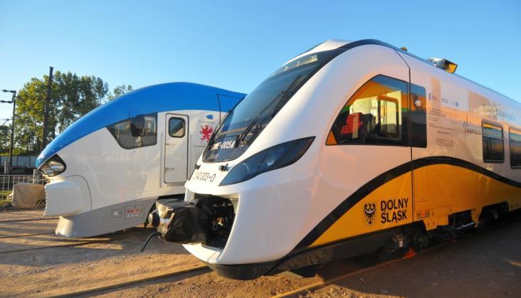 Pesa i Newag dzielą się zamówieniem na nowe pociągi dla PR