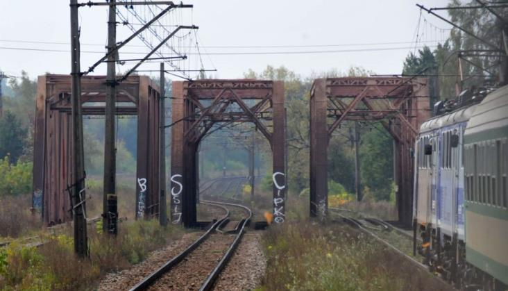 Linia nr 8: Mniejsze prace na południe od Radomia