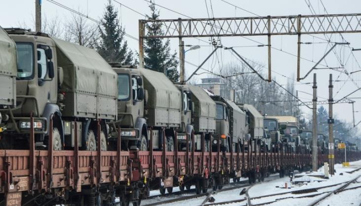 PKP Cargo zrealizowało już ponad 60 transportów wojskowych na rzecz armii