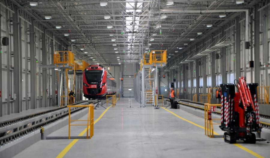 Otwarcie nowoczesnej bazy technicznej SKM Warszawa [zdjęcia]
