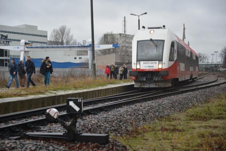 """W 13 minut z Obłuża do centrum Gdyni. Udany test """"PKM Północ"""""""