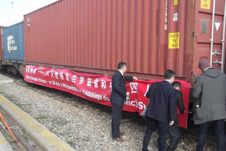 Kutno: Start połączenia kontenerowego do Chengdu