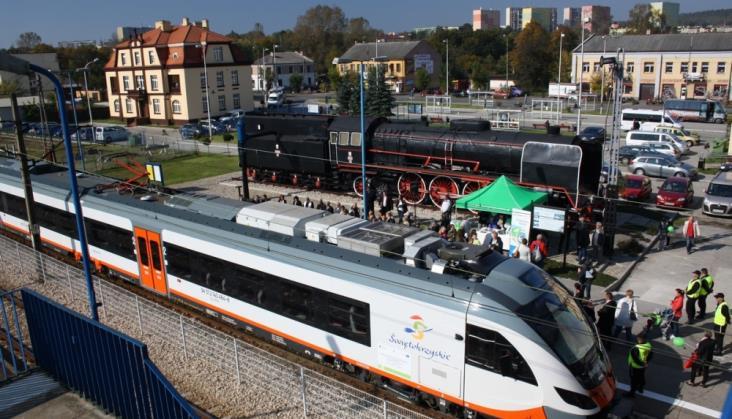 Reaktywacja połączeń z Kielc do Sandomierza