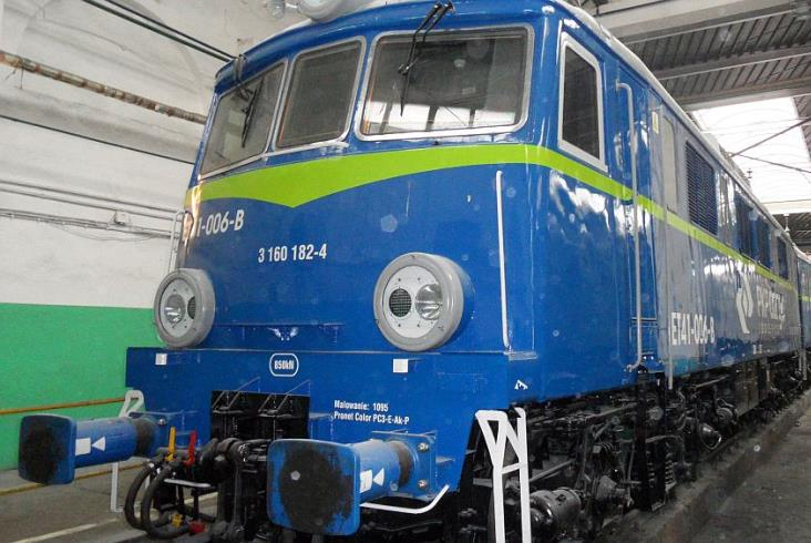 PKP Cargo odebrało pierwszą zmodernizowaną ET41