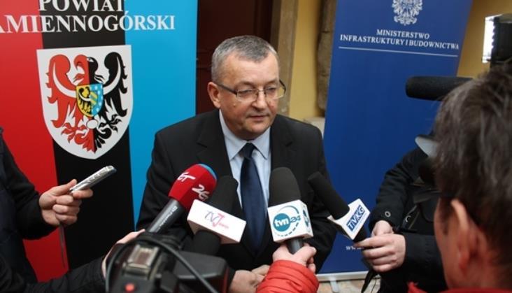 Minister Adamczyk rozmawiał z Czechami o transporcie