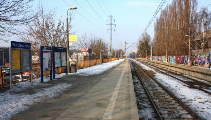 Warszawa. Inwestycje kolejowe w 2017 r. Wiadukty i most