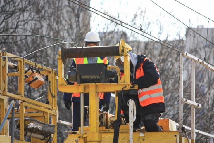 Warszawa: Rozpoczęły się prace rozbiórkowe na linii obwodowej [zdjęcia]