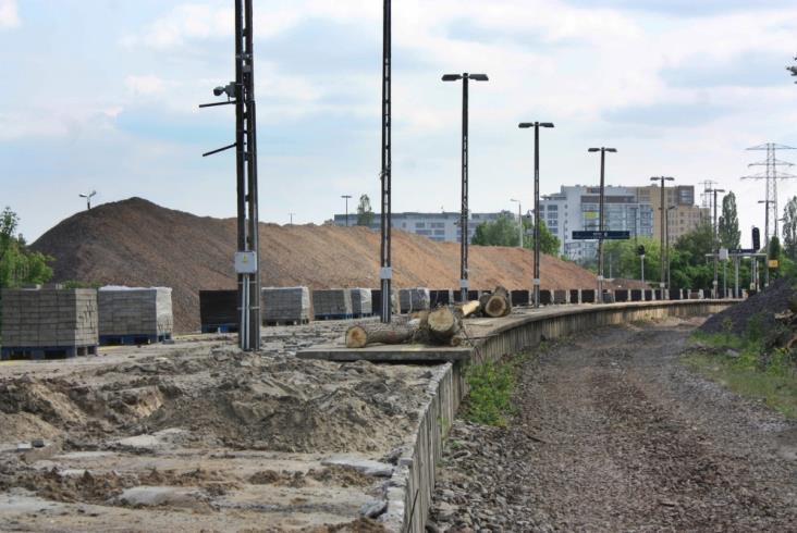 Warszawa: Linia obwodowa na razie bez opóźnień [zdjęcia]