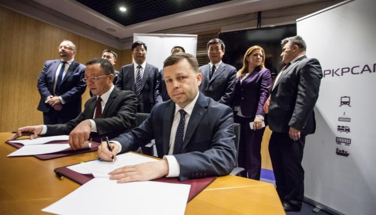PKP Cargo podpisało memorandum o współpracy z przedstawicielami prowincji Xinjiang