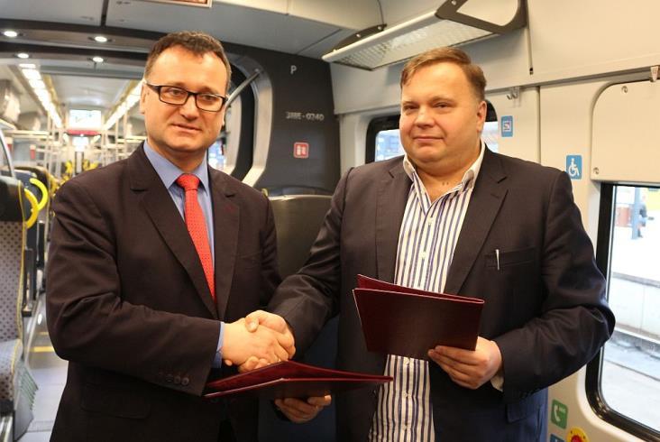 Netialino Kolei Dolnośląskich po aukcji WOŚP