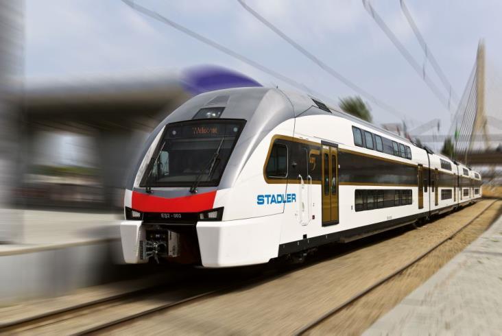 Azerbejdżan chwali się nowym dworcem głównym i pociągami Stadlera