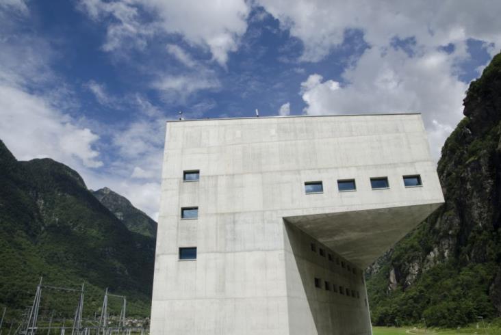 Tunel Gotarda dla publiczności (zdjęcia)
